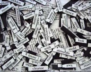 CollageOfWordMagnets