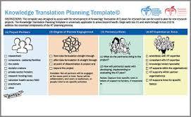 Melanie Barwick's KT Planning Tool