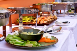 Have good food at your consultation with stakeholders