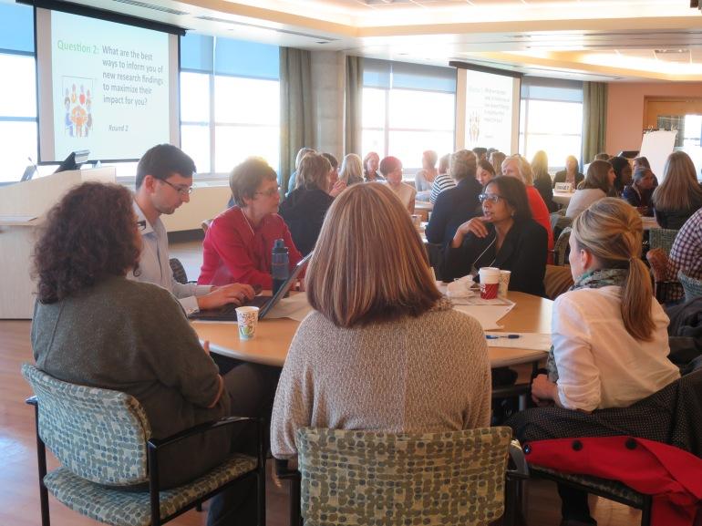 Dr. Catherine Lebel's Stakeholder Consultation, Calgary, Alberta